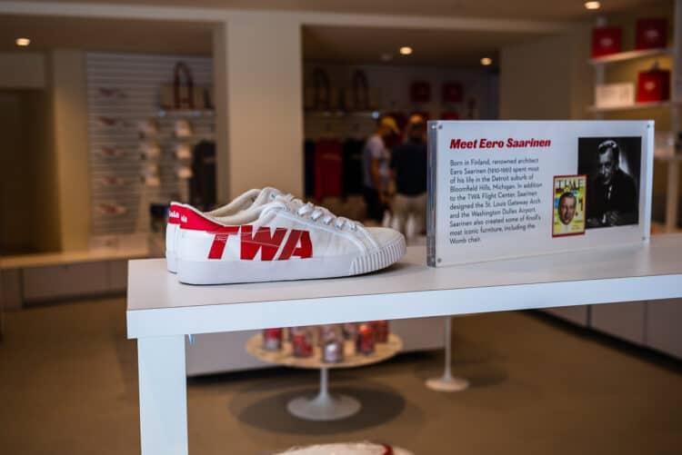 TWA Hotel store merchandise