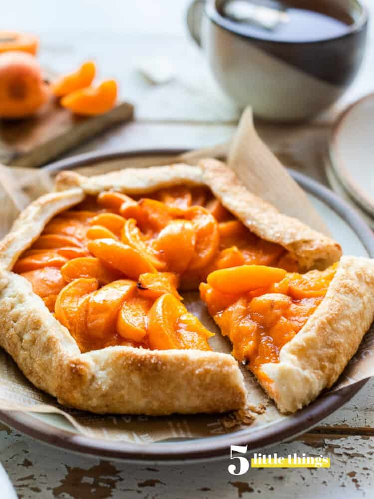 An apricot galette is one of the Five Little Things I loved the week of August 9, 2019.