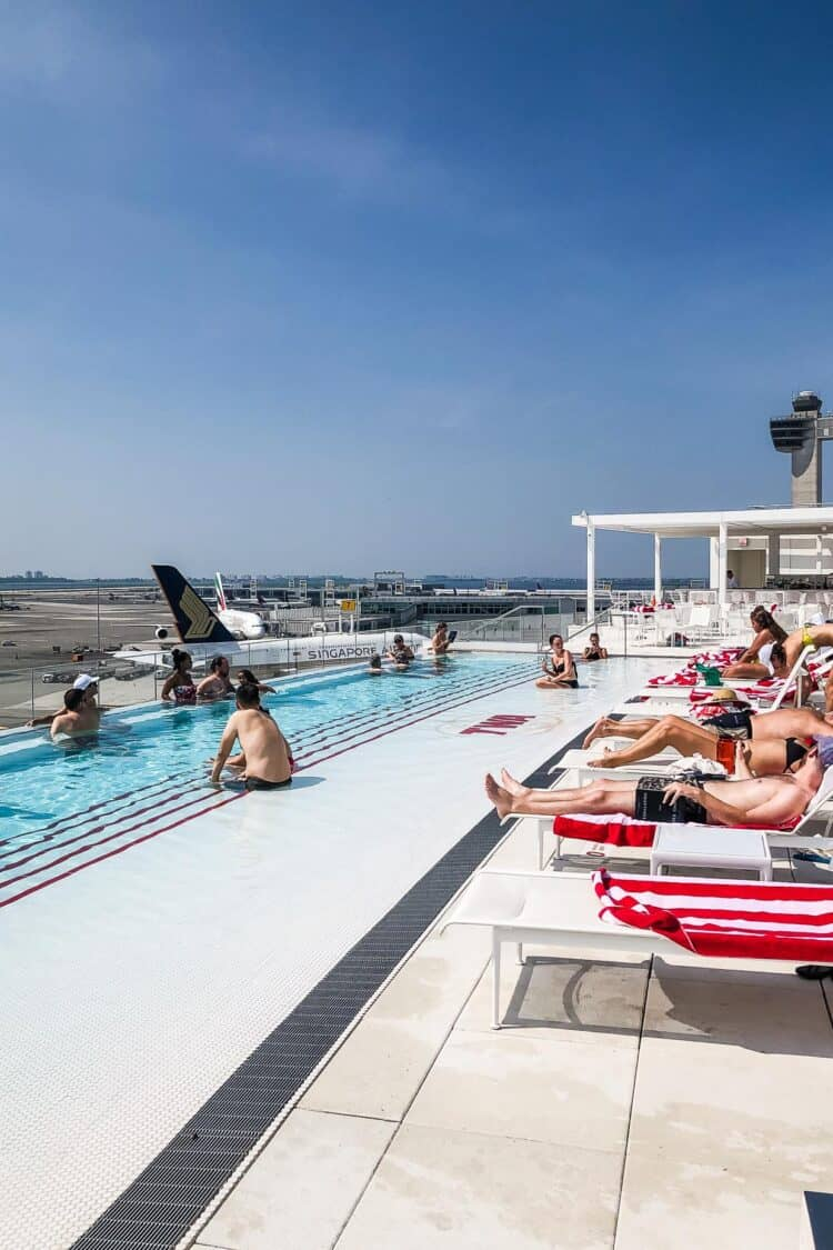 Rooftop Pool and Bar, TWA Hotel