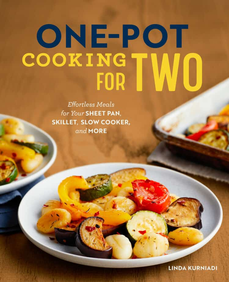 Cover for One-Pot Cooking for Two by Linda Kuniardi