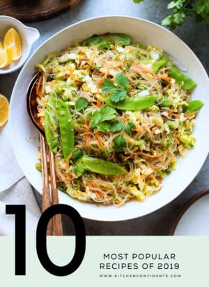 10 Most Popular Recipes of 2019 on Kitchen Confidante