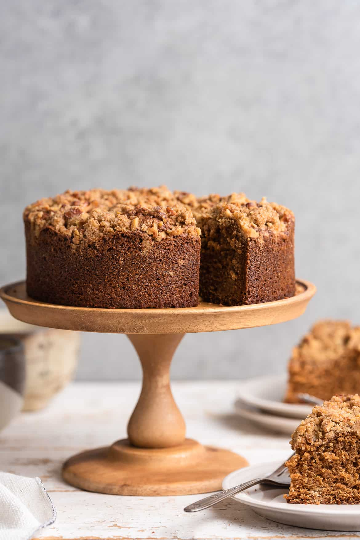 Spanish Coffee Cake Streusel Coffee Cake Recipe Kitchen Confidante