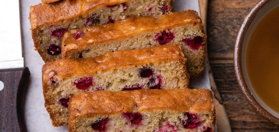 Cranberry tea cake is one of Five Little Things I loved the week of January 17, 2020.