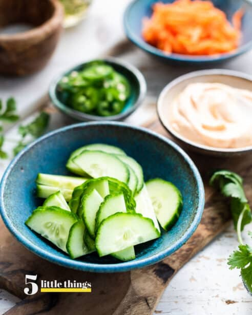 Fresh cucumbers are one of the Five Little Things I loved the week of April 3, 2020.