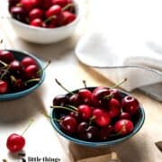 A bowl of cherries were one of the Five Little Things I loved the week of May 22, 2020.