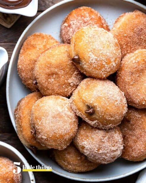 Nutella Filled Mini Donuts are one of the Five Little Things I loved the week of June 26, 2020.
