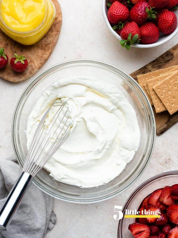 Whipped cream for no bake desserts were one of the Five Little Things I loved the week of July 25, 2020.
