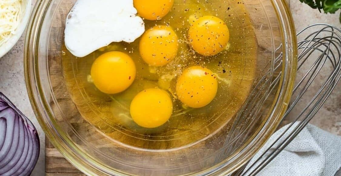 Eggs in a bowl were one of Five Little Things, August 14, 2020.