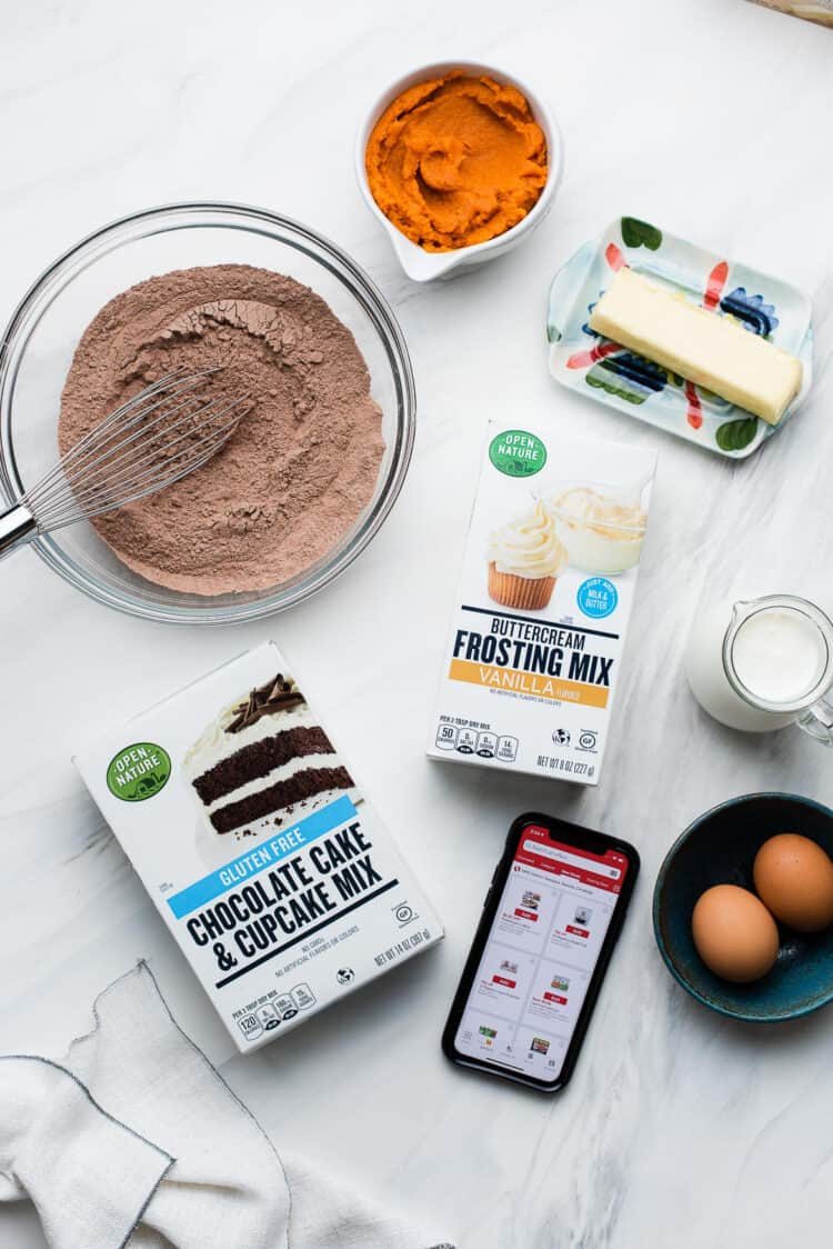 Open Nature products used to make Whoopie Pies out of cake mix.