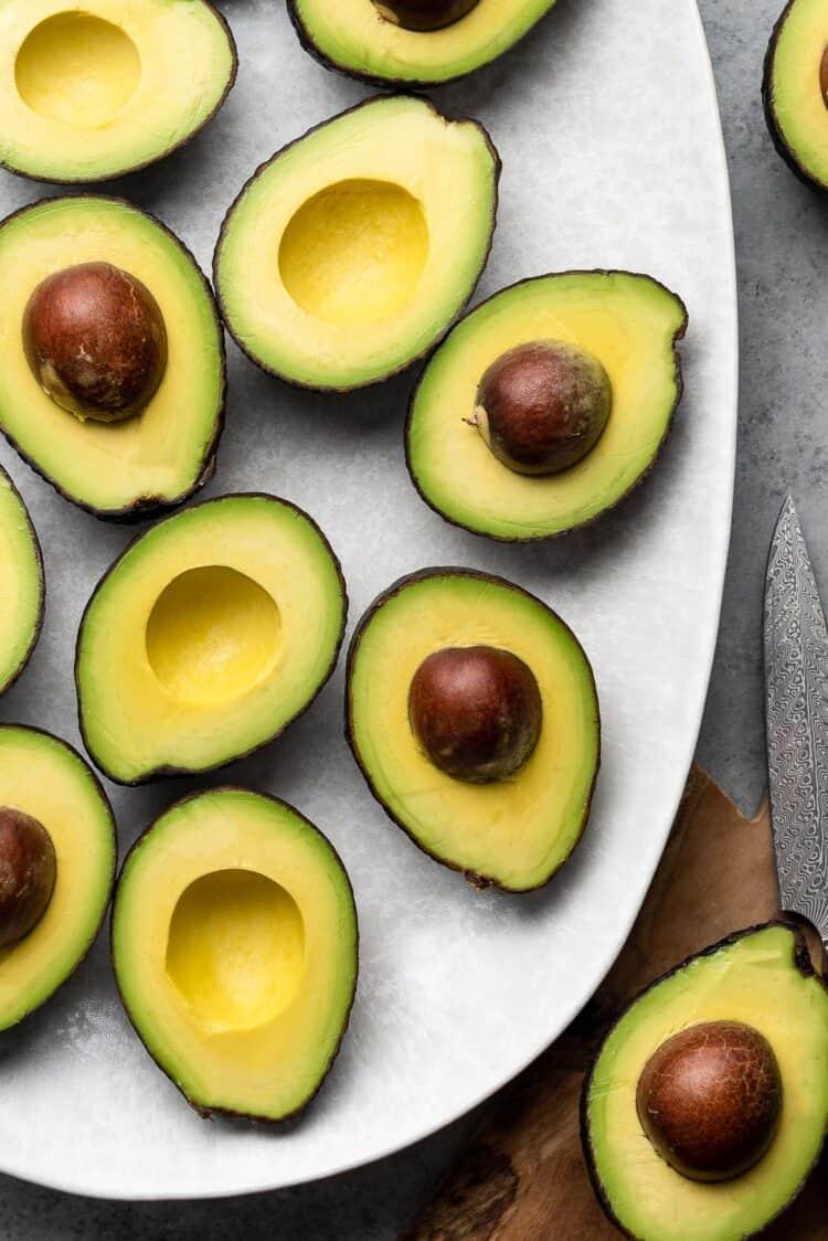 Avocados for avocado milk.