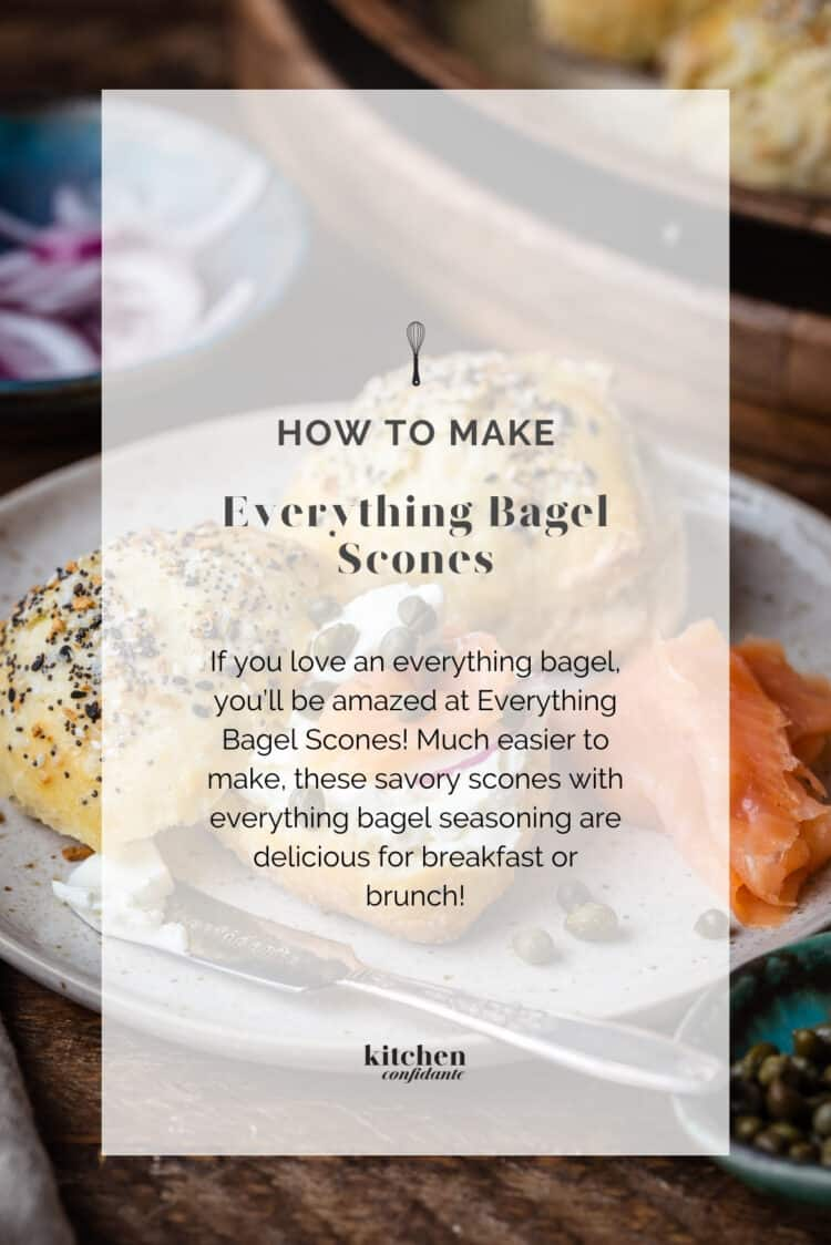 HOW TO MAKE Everything Bagel Scones